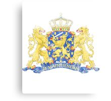 Dutch Coat of Arms Netherlands Symbol Canvas Print