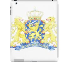 Dutch Coat of Arms Netherlands Symbol iPad Case/Skin