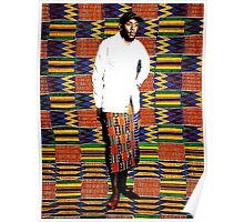 Mos Def in Kente Cloth Poster