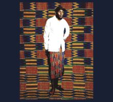 Mos Def in Kente Cloth T-Shirt