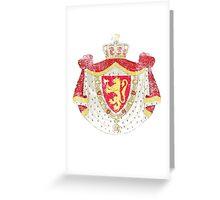 Norwegian Coat of Arms Norway Symbol Greeting Card