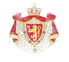Norwegian Coat of Arms Norway Symbol Photographic Print