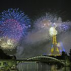fireworks3 - Paris by Paul Campbell  Photography