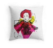 Lively Lizzie  Throw Pillow