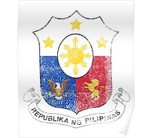 Filipino Coat of Arms Philippines Symbol Poster