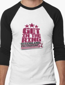 QPW - Get In The Ring! Men's Baseball ¾ T-Shirt