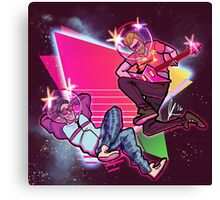 Rhett and Link - Rad Dads in Space Canvas Print