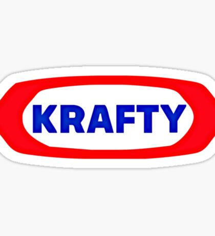 KRAFTY Sticker