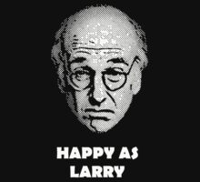 Happy as Larry  Kids Tee