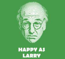 Happy as Larry  Baby Tee