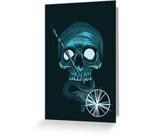 The Master of death Greeting Card
