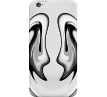 Black & White Abstract iPhone Case/Skin