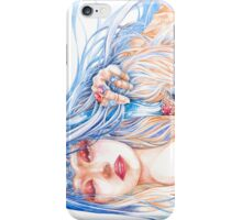 Just Another Burden - Fantasy Priestess Portrait iPhone Case/Skin