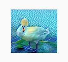 Preening Swan by the Lake  Unisex T-Shirt