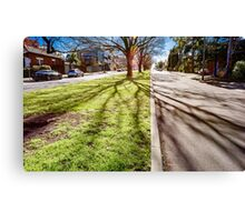 North Melbourne Street Canvas Print