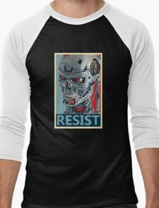 RESIST - Terminator Salvation Men's Baseball ¾ T-Shirt