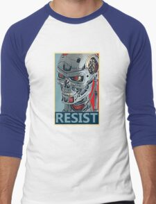 RESIST - Terminator Salvation Men's Baseball ¾ T-Shirt