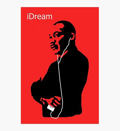 iDream - Martin Luther King Photographic Print