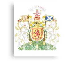 Scottish Coat of Arms Scotland Symbol Canvas Print