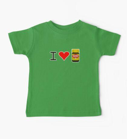 I Love Vegemite Baby Tee