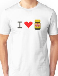 I Love Vegemite Unisex T-Shirt