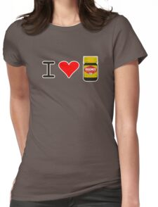 I Love Vegemite Womens Fitted T-Shirt