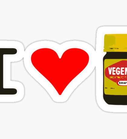 I Love Vegemite Sticker