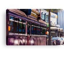 Melbourne Restaurant Tram Canvas Print
