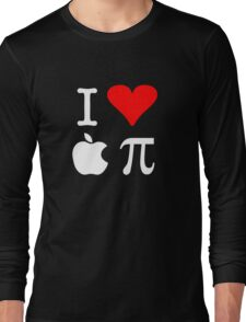 I Love Apple Pi Long Sleeve T-Shirt