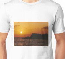 Sun Setting Over Dent Island © Vicki Ferrari Unisex T-Shirt