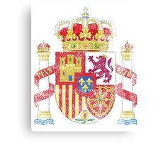 Spanish Coat of Arms Spain Symbol Canvas Print