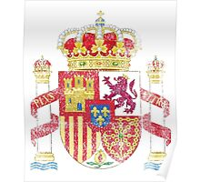 Spanish Coat of Arms Spain Symbol Poster