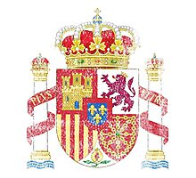 Spanish Coat of Arms Spain Symbol Photographic Print