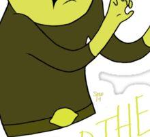 "Lemongrab ""WHO DID THE THING"" || ScarlettDesigns Sticker"