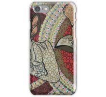 Mandala giraffe buschbuck iPhone Case/Skin