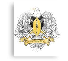 Sudanese Coat of Arms Sudan Symbol Canvas Print