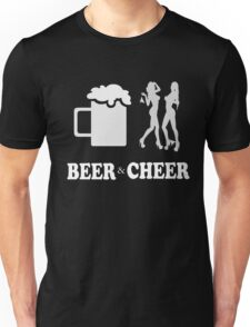 Beer & cheer - T-shirts & Hoodies Unisex T-Shirt