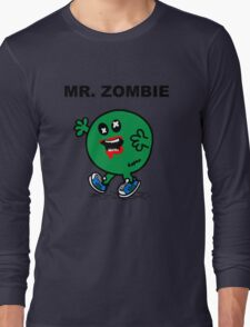 Mr Zombie Long Sleeve T-Shirt