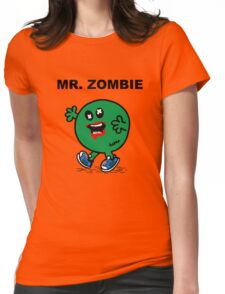 Mr Zombie Womens Fitted T-Shirt