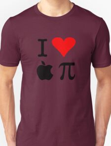 I Love Apple Pie - Alternative for light t-shirts Unisex T-Shirt
