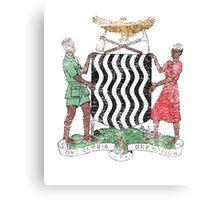 Zambian Coat of Arms Zambia Symbol Canvas Print
