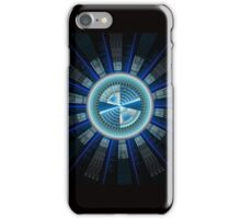 Abstract technology computer generated fractal  iPhone Case/Skin