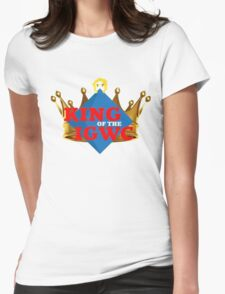"""JordanJoMo """"King of the IGWC"""" Womens Fitted T-Shirt"""