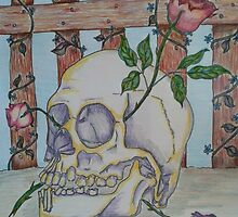 Skull and Roses by KenHadad