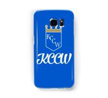 KCCW Backyard Wrestling Logo Samsung Galaxy Case/Skin