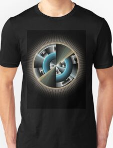 Abstract technology computer generated fractal  Unisex T-Shirt
