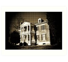 Carnton Plantation- Franklin, Tn. Art Print