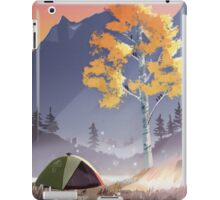 Tent Camping iPad Case/Skin