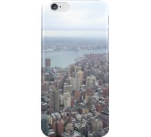 New York city from atop the empire state building iPhone Case/Skin