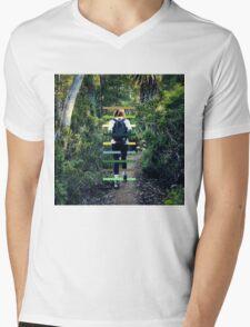 Travellers Eyes II Mens V-Neck T-Shirt